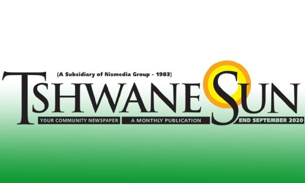 Tshwane Sun West – End September 2020
