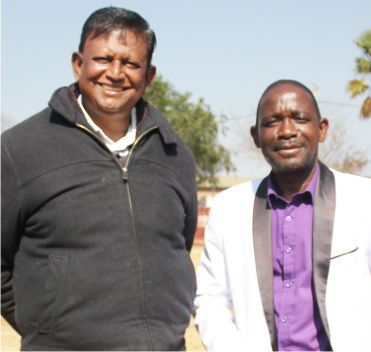 Pastor Naicker showers homeless with free shower and food